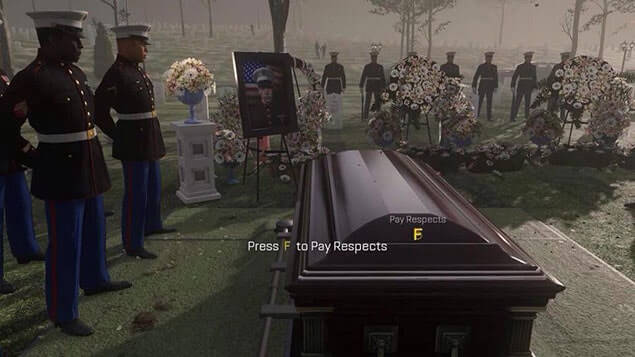 Press F to pay respects to those phone users.